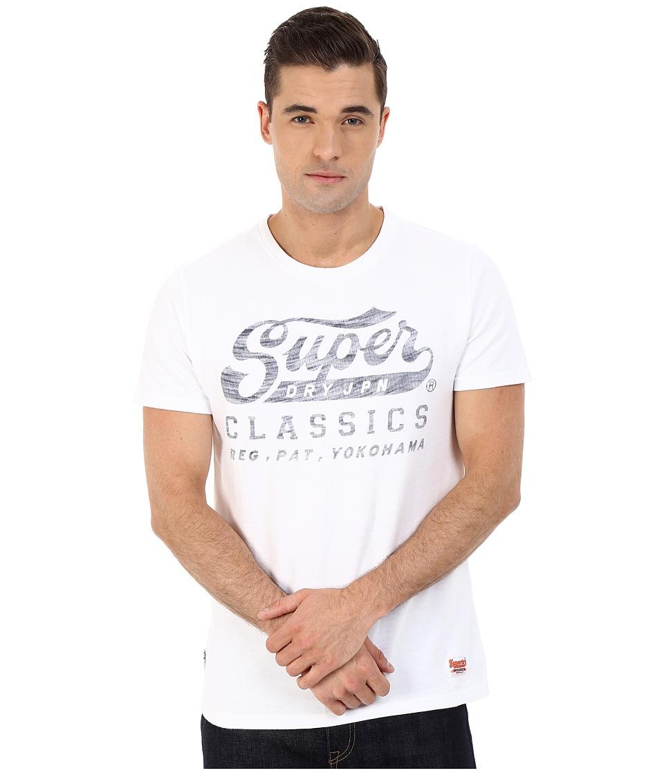 Superdry Classics Tee Optic Mens T Shirt