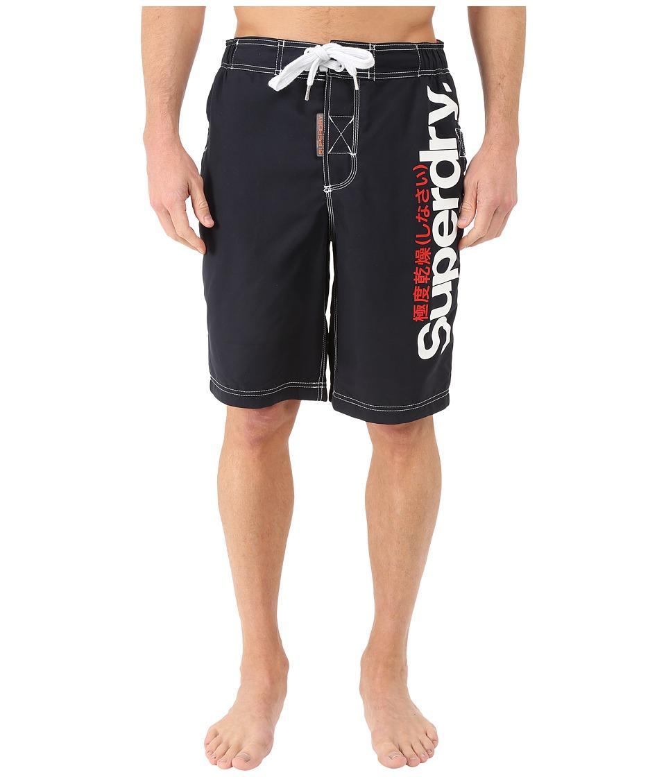 Superdry Superdry Boardshorts Darkest Navy Mens Swimwear