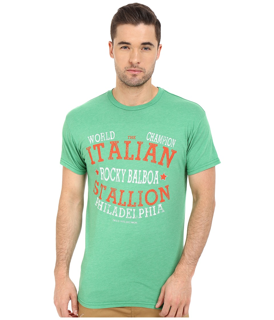 The Original Retro Brand Italian Stallion Short Sleeve Heather Tee Heather Sprite Mens T Shirt