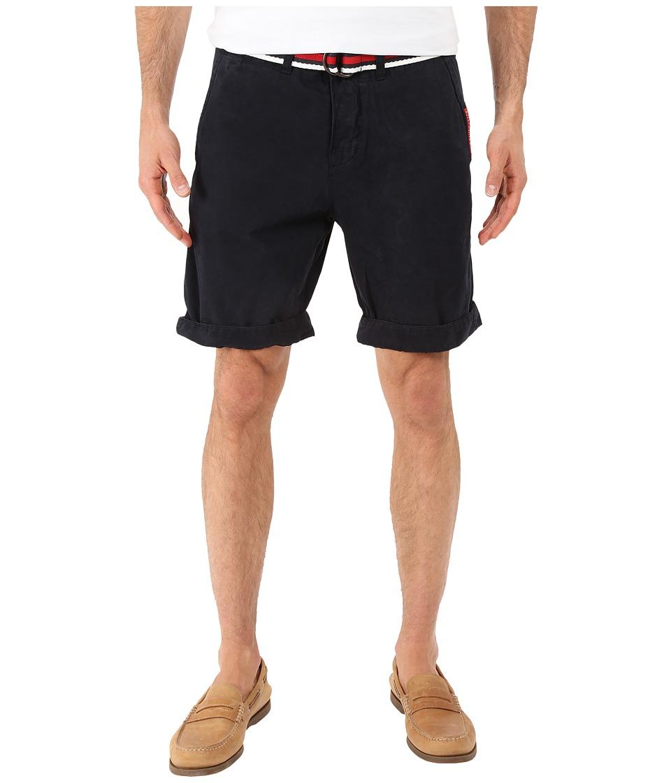 Superdry International Chino Shorts Legion Blue Mens Shorts