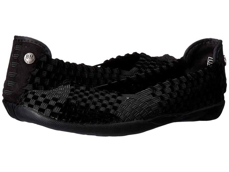 bernie mev. Catwalk (Black/Black Velvet) Slip-On Shoes