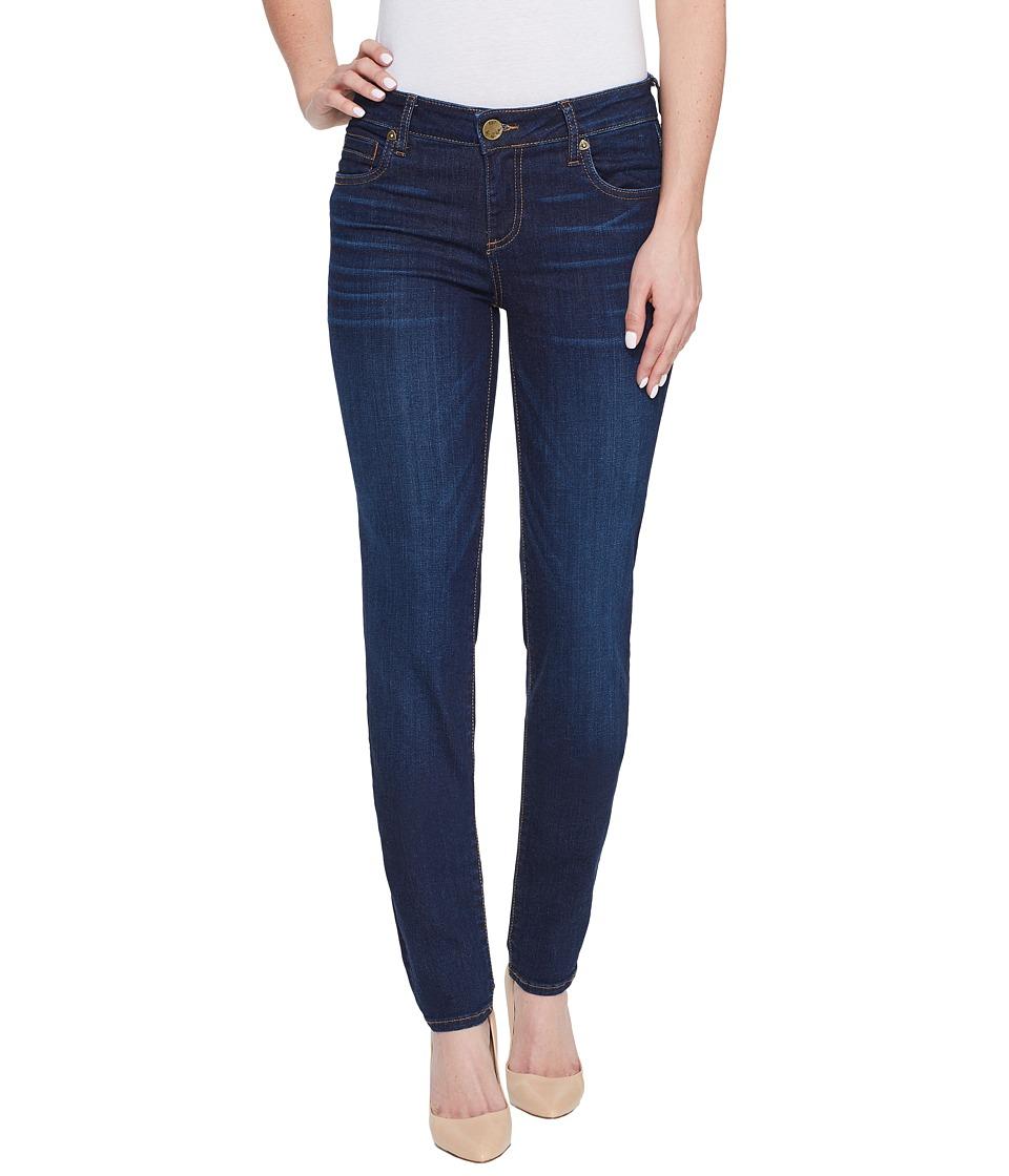 KUT from the Kloth Diana Skinny Jeans in Brightness w/ Dark Stone Base Wash (Brightness/Dark Stone Base Wash) Women