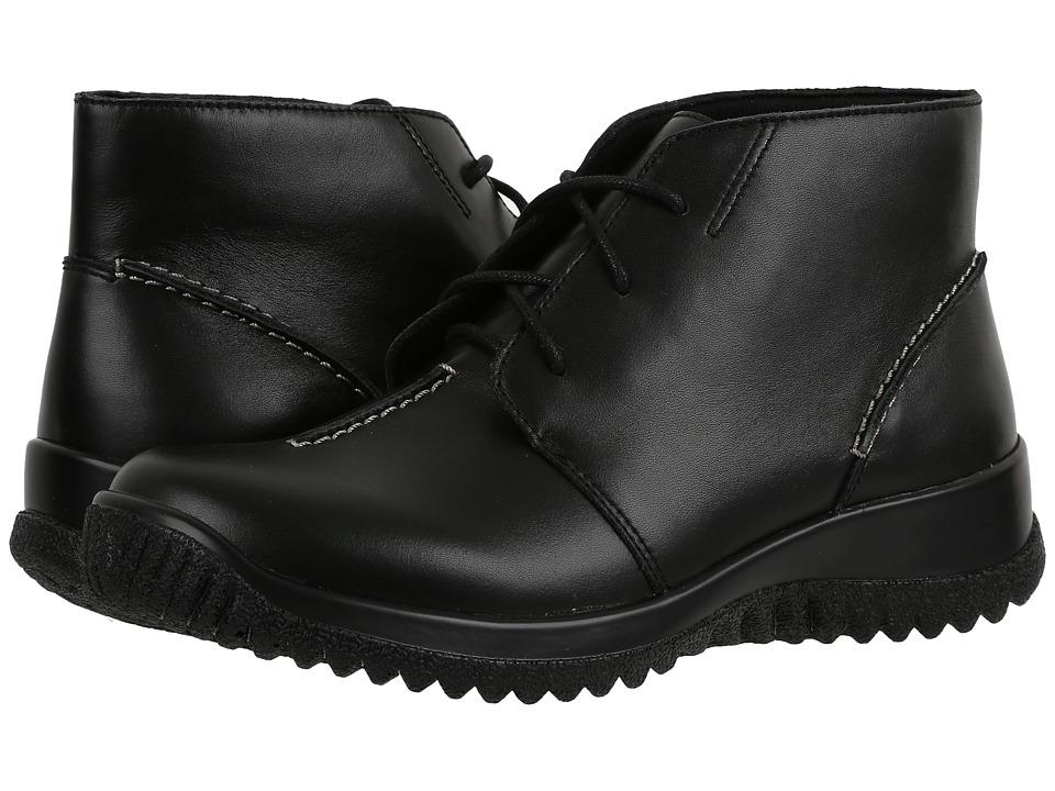 Drew Krista (Black Smooth Leather)