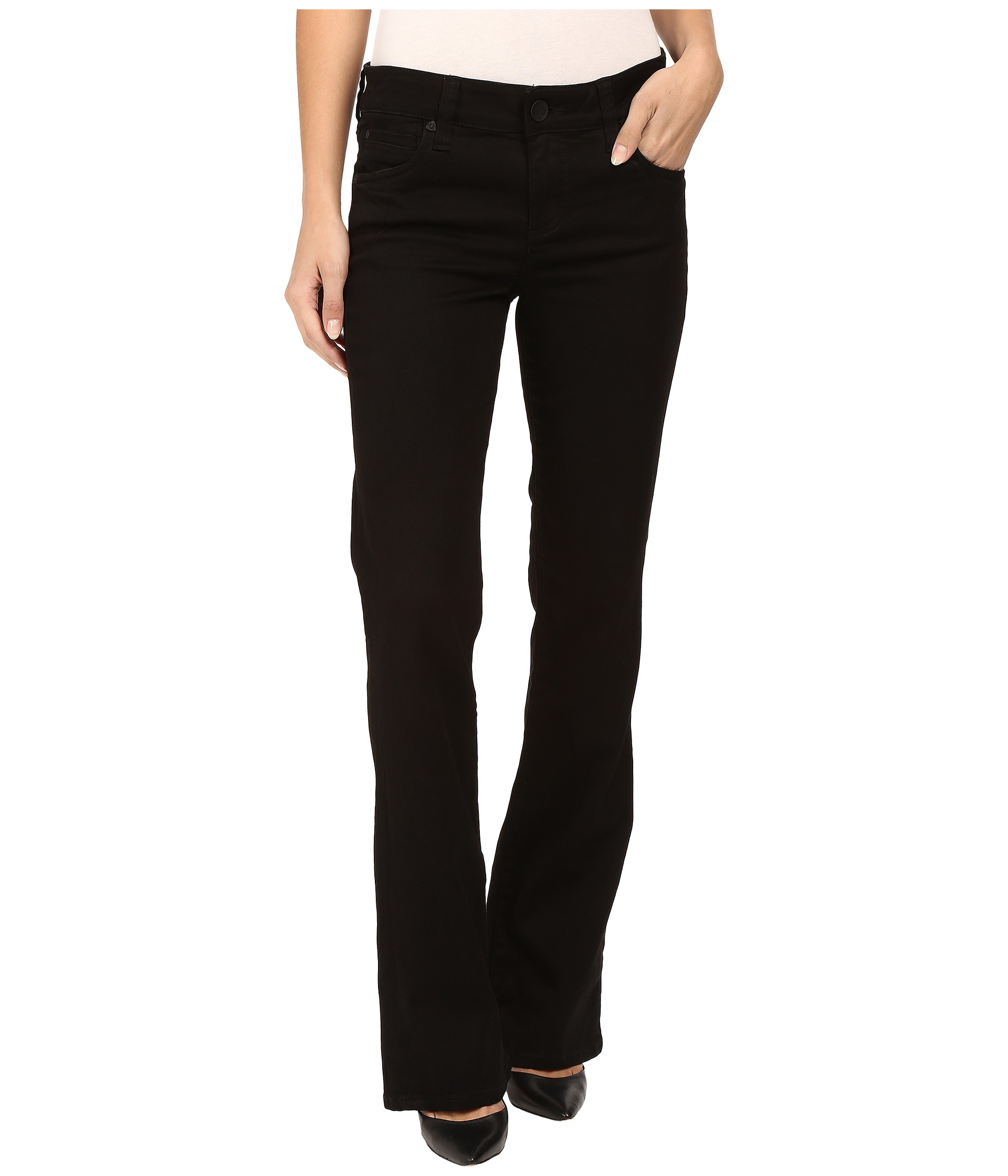 Jeans, Black, Women, Boot Cut | Shipped Free at Zappos