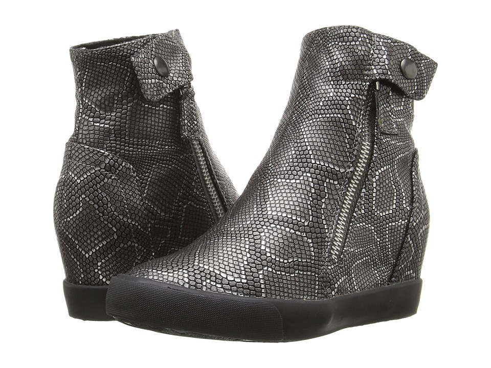 Amiana 15-A5371 (Little Kid/Big Kid/Adult) (Pewter Metallic Python) Girl