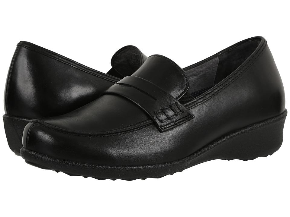 Drew Berlin (Black Smooth Leather) Women