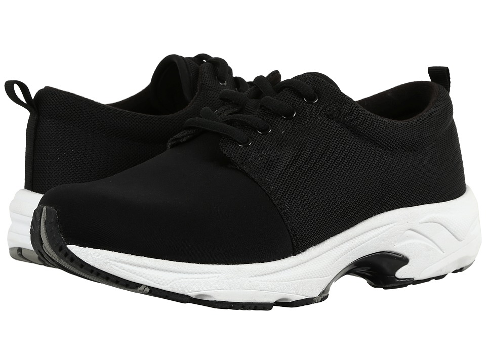 Drew Excel (Black Mesh/Stretch) Women