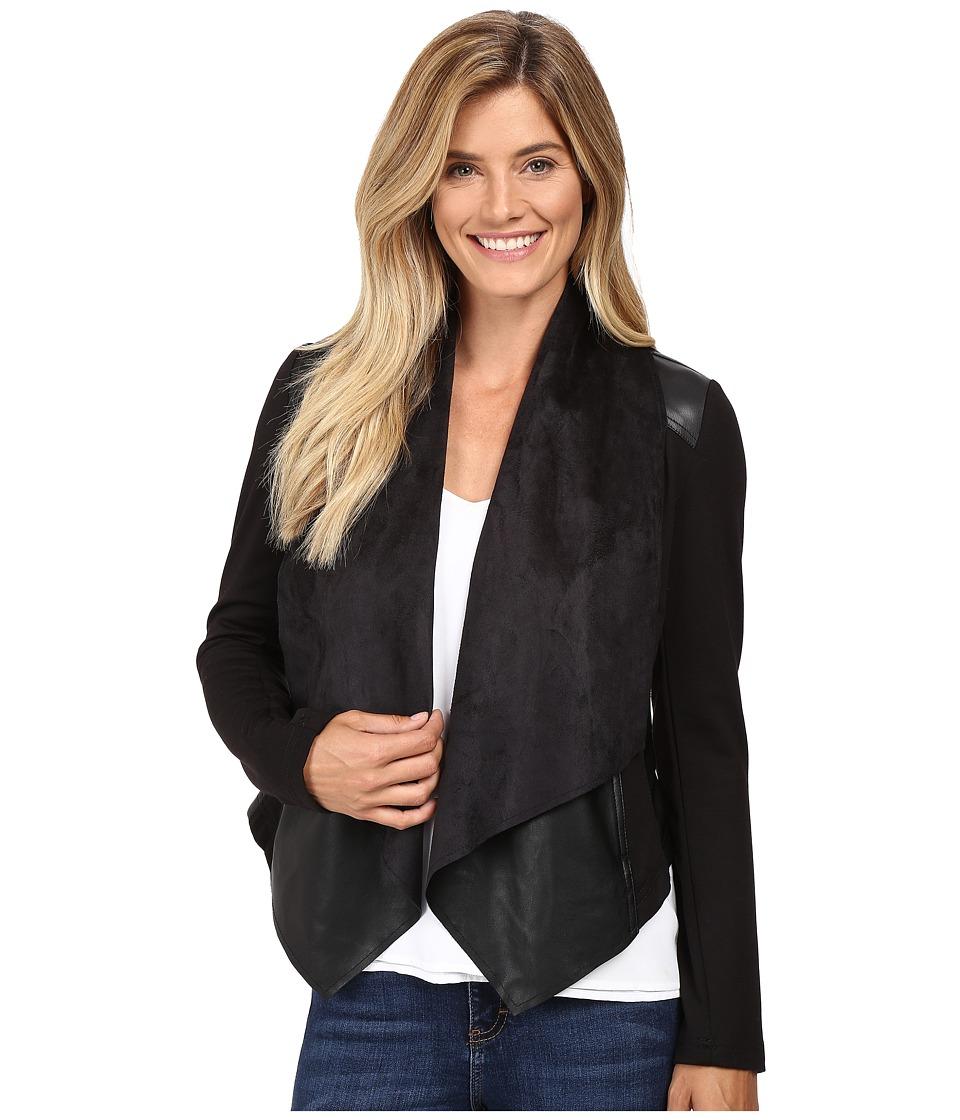 Kut Reina (Black) Women's Long Sleeve Button Up