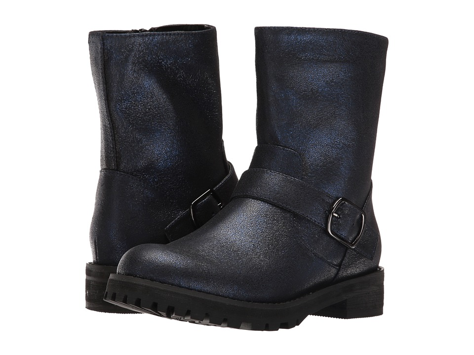 Amiana 15-A5423 (Little Kid/Big Kid/Adult) (Navy Dusty Metallic) Girl