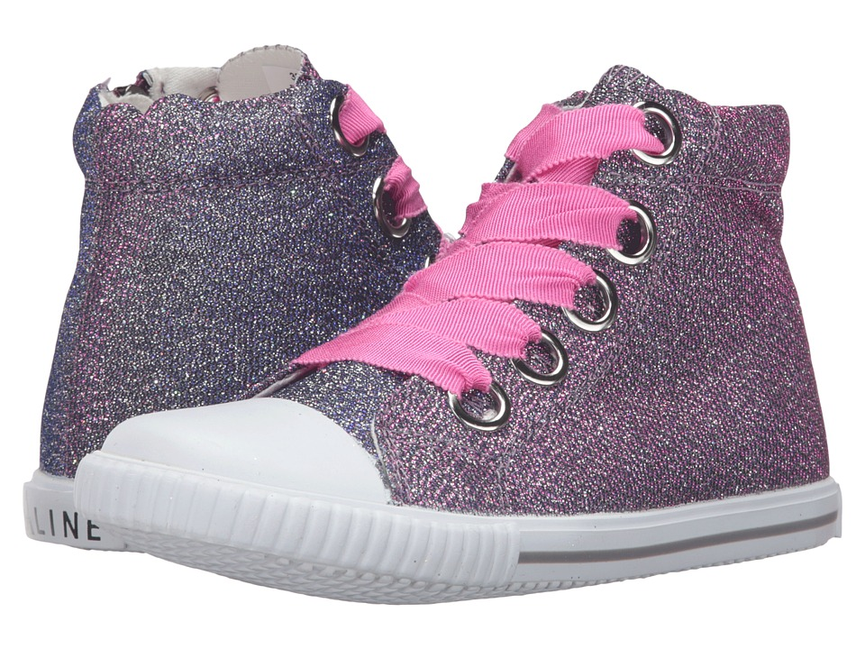 Image of Amiana - 6-A0920 (Toddler/Little Kid/Big Kid/Adult) (Fuchsia Irridescent Shimmer) Girl's Shoes