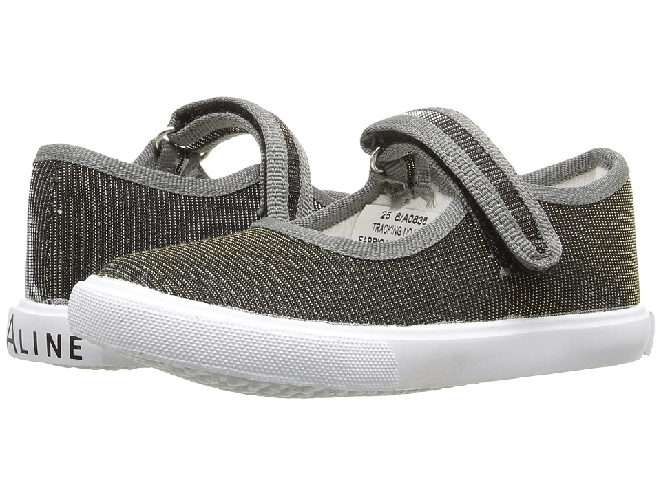 Amiana 6-A0838 (Toddler/Little Kid/Big Kid) (Pewter Irridescent Shimmer) Girls Shoes