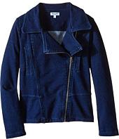 Splendid Littles - Indigo Denim Moto Jacket (Big Kids)