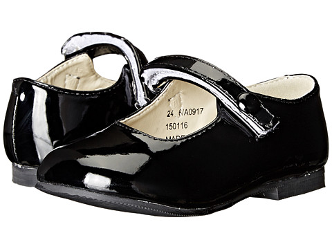 Amiana 6-A0917 (Toddler/Little Kid) - Black Patent PU
