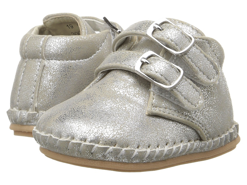 Amiana 6-A0944 (Infant/Toddler) (Silver Metallic Fog) Girl