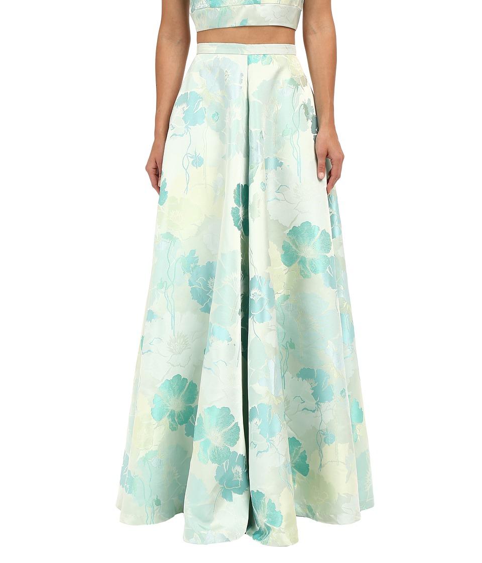 Rachel Antonoff Tip Ballgown Skirt Spearment Poppy Womens Skirt