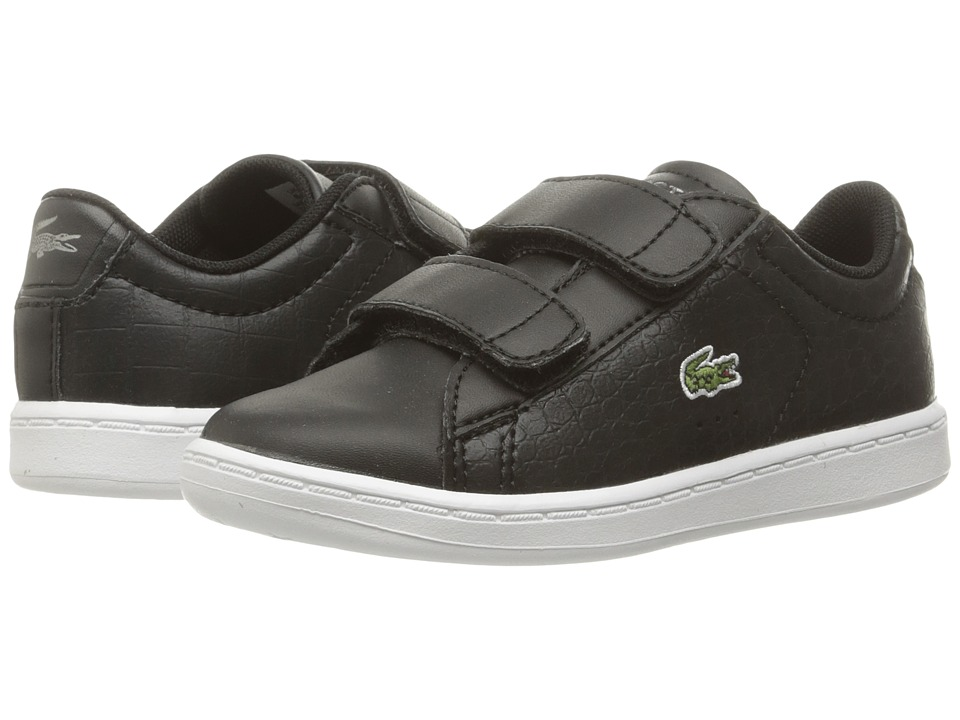 Lacoste Kids Carnaby Evo Gsp 2 (Toddler/Little Kid) (Black/Black) Kid