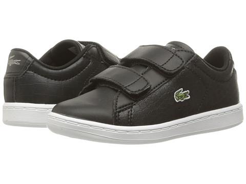 Lacoste Kids Carnaby Evo Gsp 2 (Toddler/Little Kid) - Black/Black