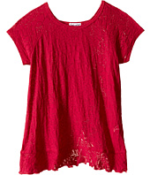 Splendid Littles - Burnout Short Sleeve Tee with Flounce (Little Kids)