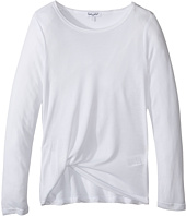 Splendid Littles - Always Drapey Lux Long Sleeve Tee (Big Kids)