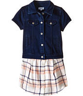 Splendid Littles - Cap Sleeve Indigo/Woven Top (Toddler)