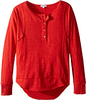 Splendid Littles - Long Sleeve Henley (Big Kids)