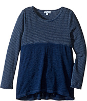 Splendid Littles - Indigo Mixed Print Long Sleeve Top (Toddler)