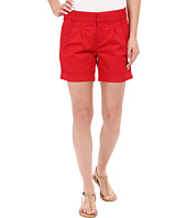 KUT from the Kloth - Julia Pleated Walking Shorts in Red