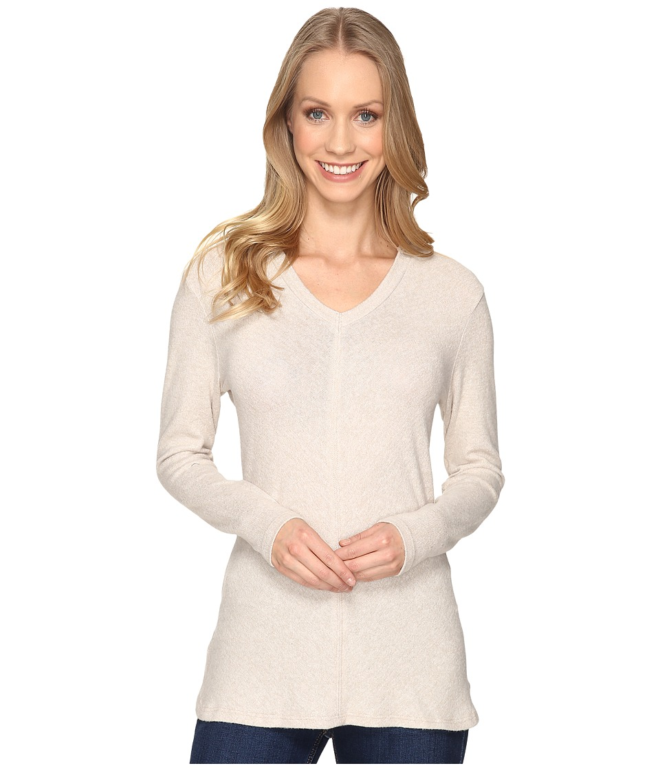 B Collection by Bobeau Sweater Hoodie (Oatmeal) Women