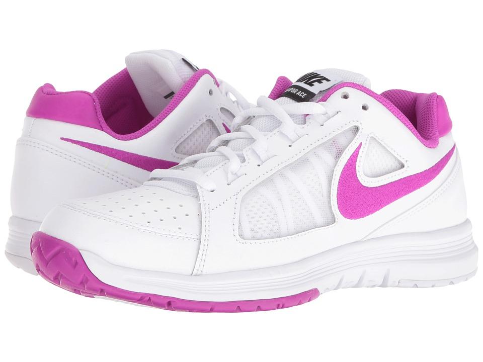 Nike Air Vapor Ace (White/Hyper Violet-Black) Women