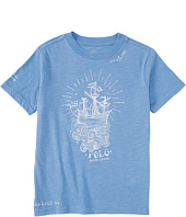 Polo Ralph Lauren Kids - Graphic Crew Neck T-Shirt (Little Kids/Big Kids)