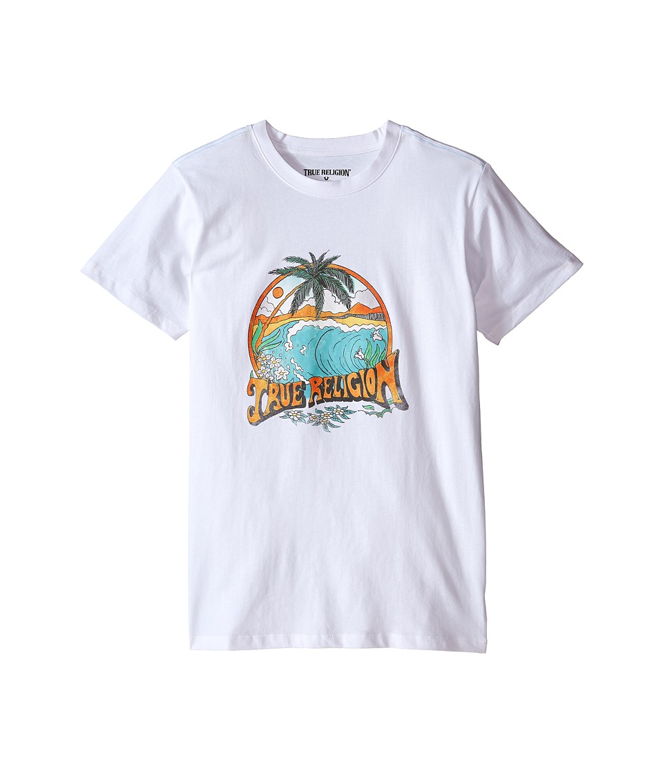 True Religion Kids Surfer Graphic Tee Big Kids White Boys T Shirt