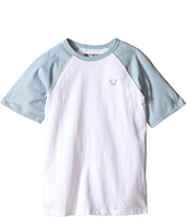 True Religion Kids - Branded Logo Raglan Tee (Toddler/Little Kids)