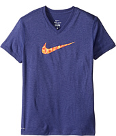 Nike Kids - Dry Swoosh Short Sleeve Training T-Shirt (Little Kids/Big Kids)