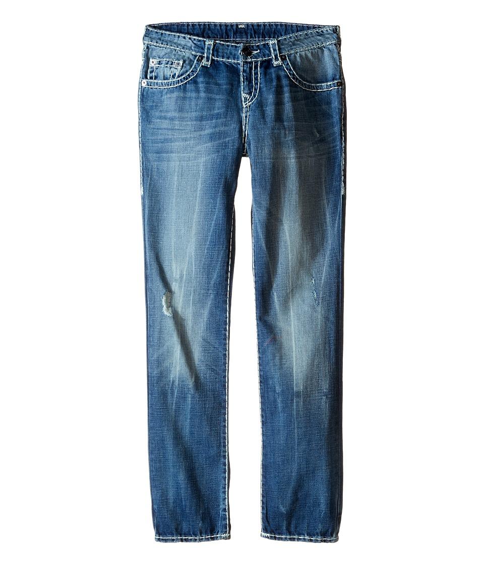 True Religion Kids Geno Super T Jeans in Rhythm Blue Big Kids Rhythm Blue Boys Jeans