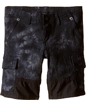 True Religion Kids - Chambray Trooper Cargo Shorts (Toddler/Little KIds)