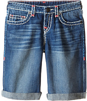 True Religion Kids - Ricky Roll Up Color Combo Super T Shorts (Big Kids)