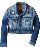 True Religion Kids - Patched Cropped Jacket (Toddler/Little Kids)
