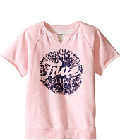 True Religion Kids - Raw Edge Pullover Sweatshirt (Little Kids/Big Kids)