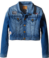 True Religion Kids - Patched Cropped Jacket (Little Kids/Big Kids)