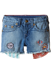 True Religion Kids - Patched Casey Single End Shorts (Toddler/Little Kids)