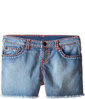 True Religion Kids - Bobby Coral & Mint Combo Super T Shorts (Big Kids)