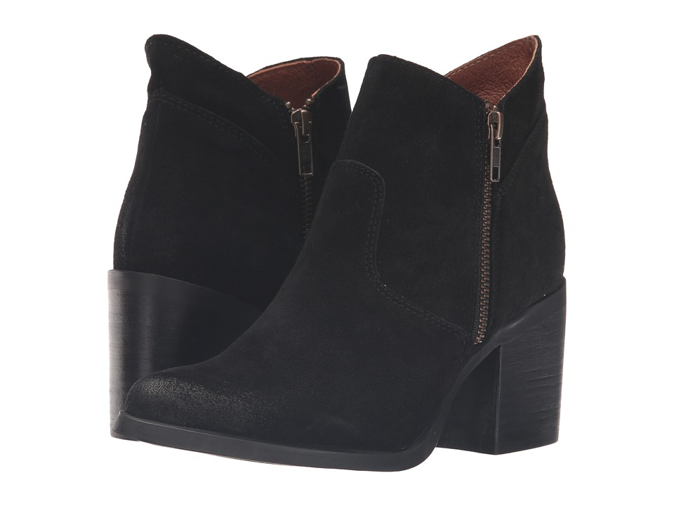 Steve Madden - Pierce (Black Suede) Women