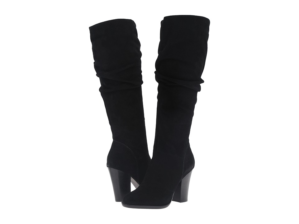 Steve Madden-Nevadaaa  (Black Suede) Womens Boots