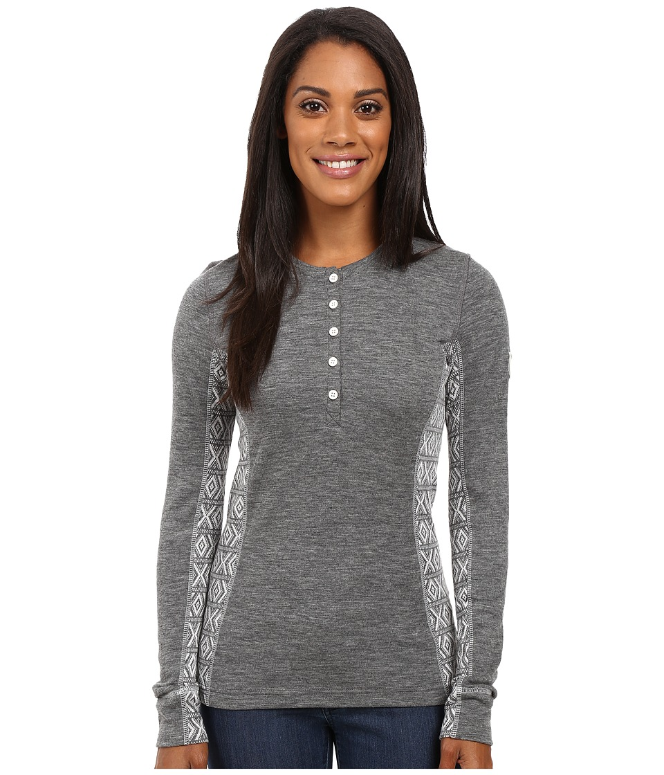 Dale of Norway Bykle Sweater (Smoke/White) Women's Sweater
