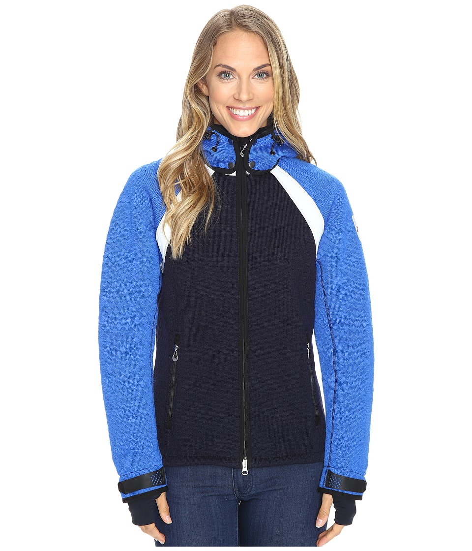 Dale of Norway Jotunheimen Jacket (Navy/Cobalt) Women's Coat