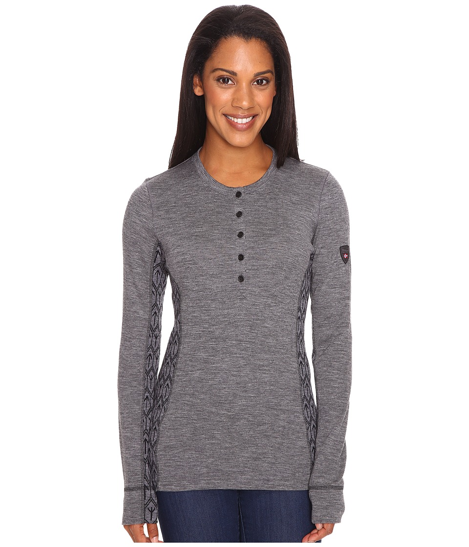 Dale of Norway Viking Basic Sweater (Smoke) Women's Sweater