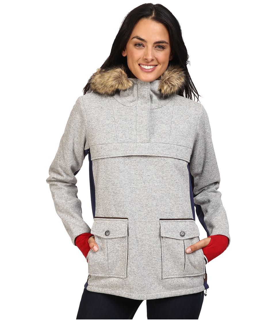 Dale of Norway Fjellanorakk Jacket (Light Grey) Women's Coat