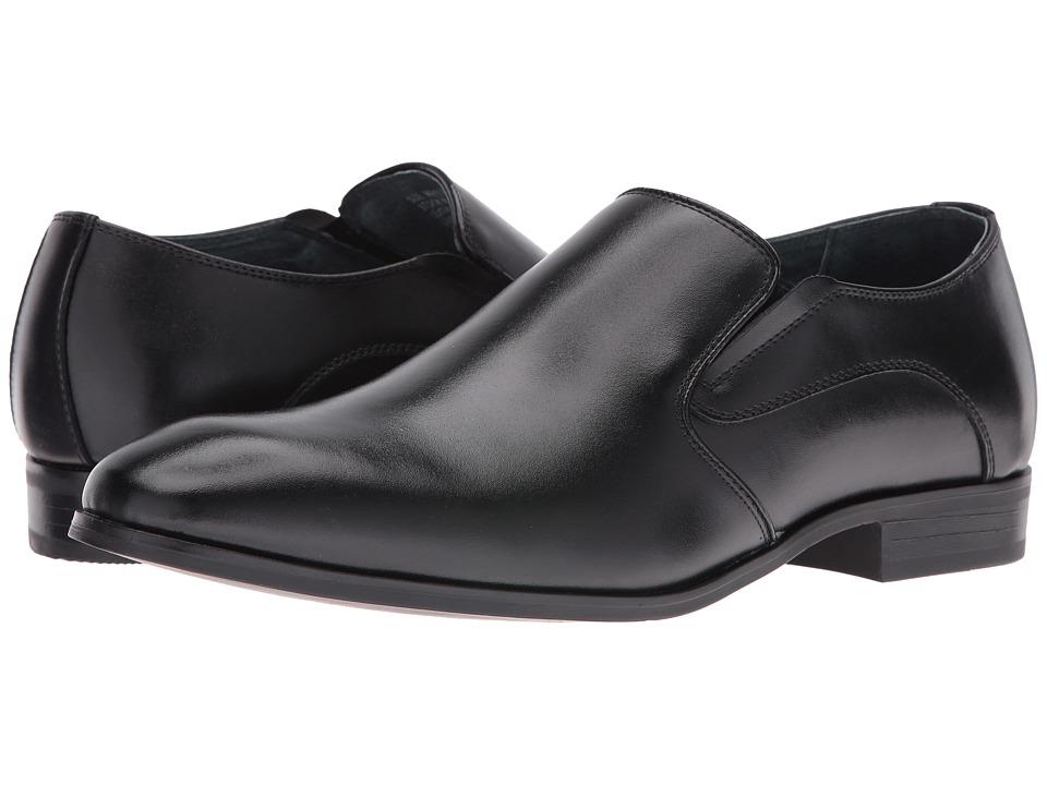 Edwardian Titanic Mens Formal Suit Guide Giorgio Brutini - Brosk Black Mens Shoes $70.00 AT vintagedancer.com
