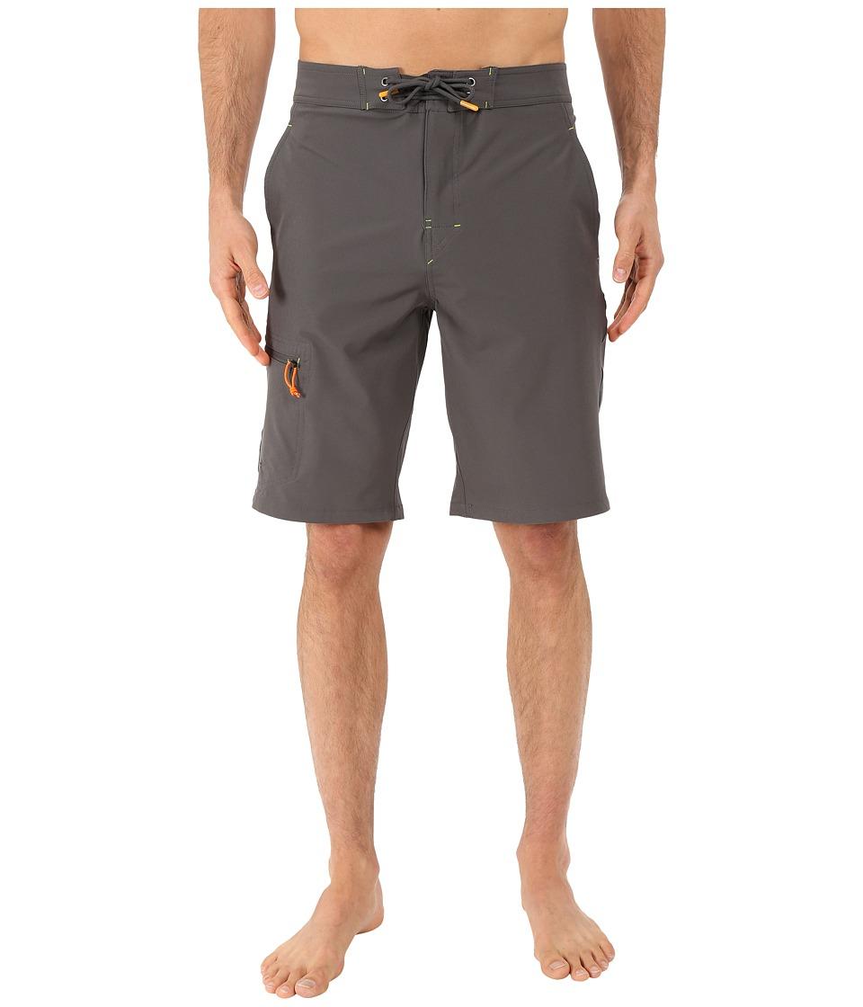 Rainforest Wayne Boardshorts in Stretch Oxford Grey Mens Swimwear