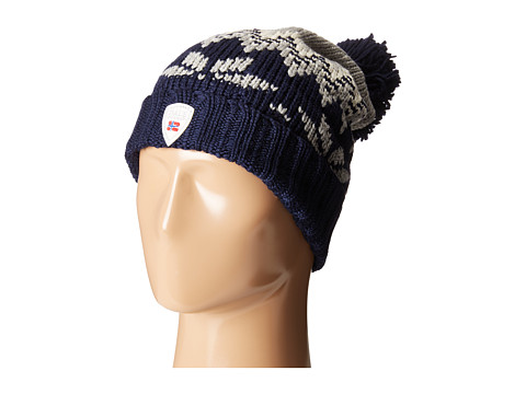 Dale of Norway Myking Hat - Navy/Light Charcoal